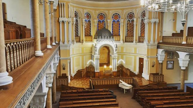 В петербургской Большой хоральной синагоге пройдёт День открытых дверей