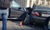 Два автомобиля столкнулись на Благодатной