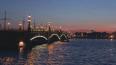 В Петербурге Тучков мост разведут в ночь с 23 на 24 янва...