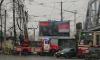 Упавшая на провода ветка заблокировала движение в Выборгском районе