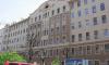 МЧС обследует здание с отслоившейся штукатуркой на Петроградской стороне