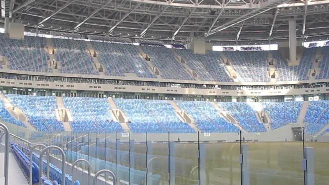 """Эксперты объяснили, как синтетические нити спасут газон арены """"Санкт-Петербург"""""""