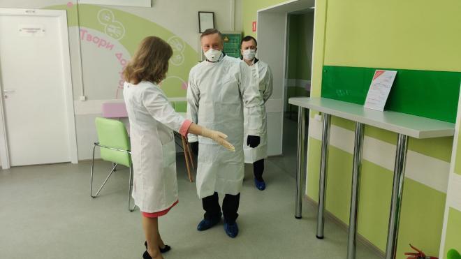 Губернатор посетил Городскую станцию переливания крови в рамках недели донора