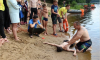 В Рощино состоялось занятие по спасению и самоспасению на воде