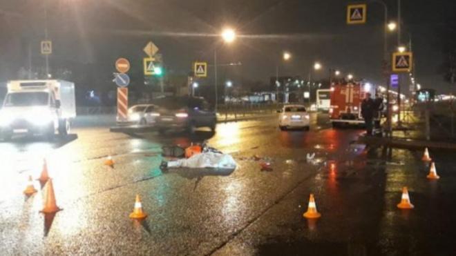 Мотоциклист погиб в аварии на Софийской улице