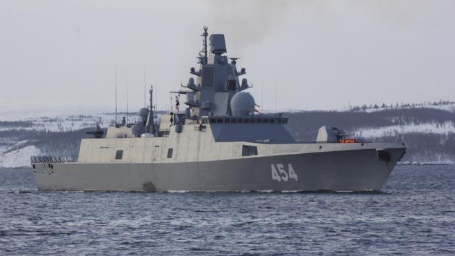 """Фрегат """"Адмирал Горшков"""" испытает гиперзвуковую ракету в Баренцевом море"""