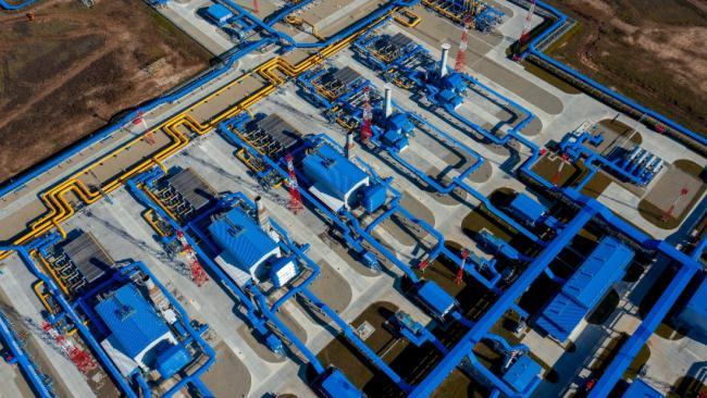"""Поставки """"Газпрома"""" в Китай в первом квартале достигли 2,6 млрд кубометров"""