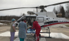 Из Тихвина на вертолете в Петербург доставили роженицу с сепсисом