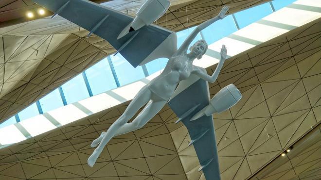 Петербуржцы поздравляют аэропорт Пулково с Днем рождения