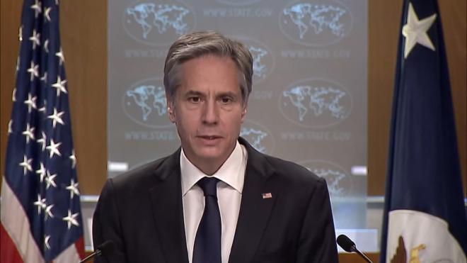 Госсекретарь США объяснил слова Байдена о Путине