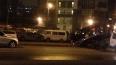 На Кушелевской дороге пьяный водитель Mercedes разбил ...