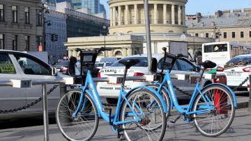 В Петербурге с 1 мая откроют станции проката велосипедов