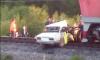 За рулем легковушки, которую снес поезд под Архангельском, была 16-летняя девушка