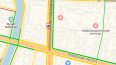 Аварии парализовали движение в двух районах Петербурга