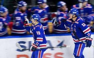 СКА в серии буллитов уступил ЦСКА в матче КХЛ