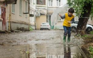 В понедельник в Петербурге сохранится тепло, но пройдут дожди