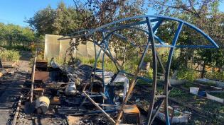 В Самарской области в огне погибла женщина и ее трое маленьких детей