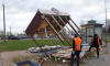 Московский и Выборгский районы лишили ларьков с продуктами, выпечкой и шавермой