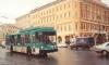 Троллейбус попал в ДТП на Невском в Петербурге