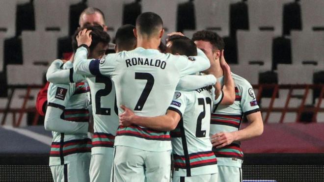 Роналду высказался о скандале в матче Сербии и Португалии