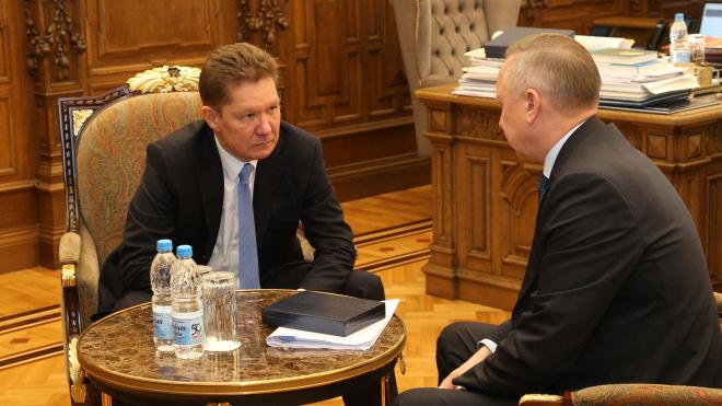 """Миллер и Беглов договорились: на реконструкцию труб """"Теплосети"""" выделят 1,5 миллиарда рублей"""