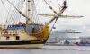 """Корабль """"Полтава"""" пришвартуется на Английской набережной 2 июля"""