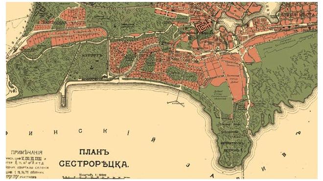 В Сестрорецке появится рекреационная зона «Петровский Арсенал»