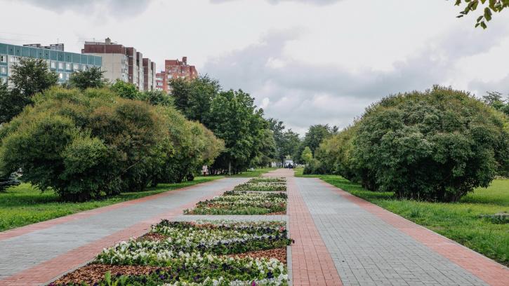Завершено благоустройство бульвара на Долгоозерной улице