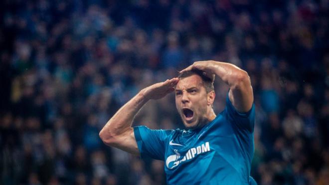 Артем Дзюба стал лучшим футболистом России в 2019 году