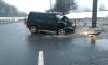 ДТП: В Санкт-Петербурге УАЗ протаранил столб