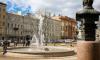 В Петербурге вДень Победы включат светомузыкальные фонтаны