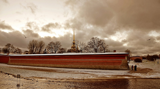 Петербуржцев предупредили о морозе и гололедице в четверг
