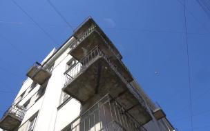 В 2020 году Смольный не согласовал 5 проектов на остекление балконов