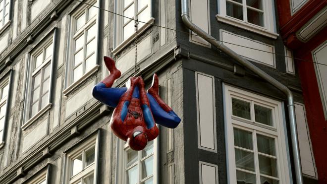 Петербургского человека-паука спасают службы МЧС