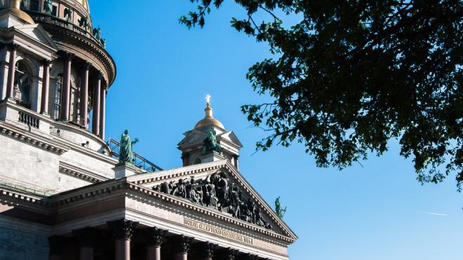 Исаакиевский собор открывает колоннаду для посещения