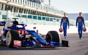 Показательные заезды Toro Rosso