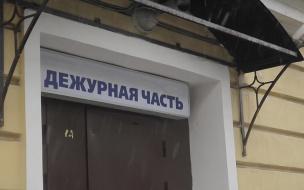 Петербуржец пожаловался полиции на угрозу пистолетом из-за неправильной парковки
