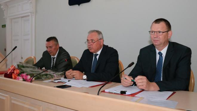 В Выборге состоялся совет депутатов