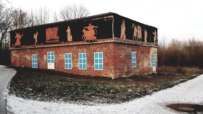 Петербургские художники закрасили пещерные рисунки. На их месте появилась живопись античного искусства
