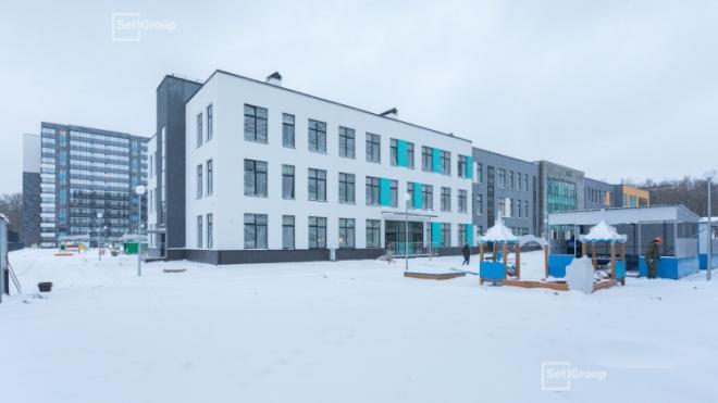 В Петербурге ввели в эксплуатацию еще три объекта образования