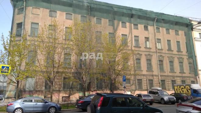 Историческое здание на Обводном продают за 121 млн рублей