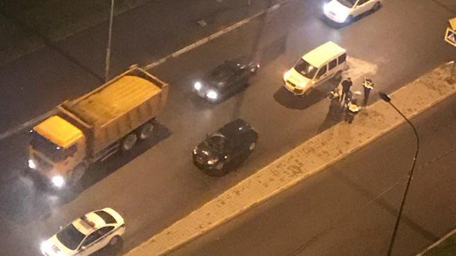В Мурино сбили пешехода