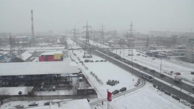 В последний рабочий день в Петербурге будет идти мокрый снег