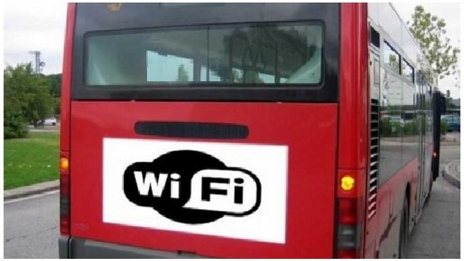 В Петербурге запустили первый автобус с бесплатным WiFi