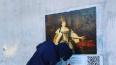 В переулке Радищева появилась новая фреска портрета ...
