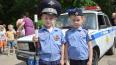 В Купчино полиция провела зарядку для школьников