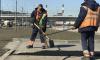 На мостах и набережных Петербурга начали ремонтировать асфальт