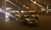 На Петроградке в ночном ДТП таксист перевернулся и поехал на крыше дальше вместе с пассажиром