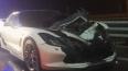Гонка Corvette и Range Rover закончилась ДТП на съезде ...