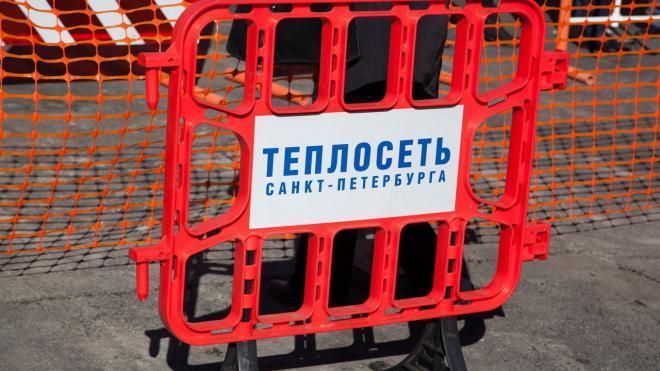 На Московском проспекте починили прорванную трубу с горячей водой